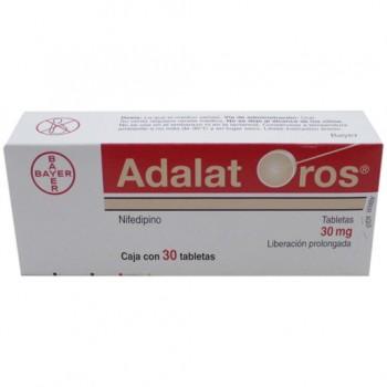 Adalat Oros Nifedipine 30 mg 30 tabs