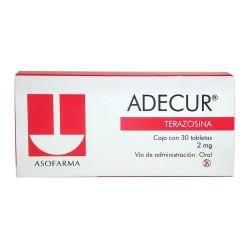 Adecur Terazocin 2 mg 30 tabs
