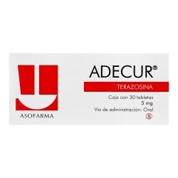 Adecur Terazocin 5 mg 30 tabs