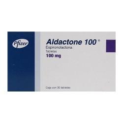 Aldactone spironolactone 100 mg 30 tabs