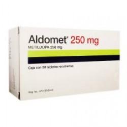 Aldomet Methyldopa 250 mg 50 tabs