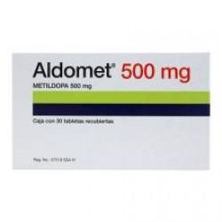 Aldomet Methyldopa 500 mg 60 tabs