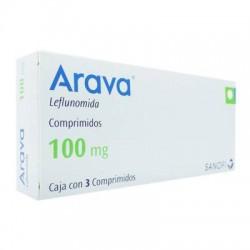 Arava leflunomide 100 mg 3 Tabs