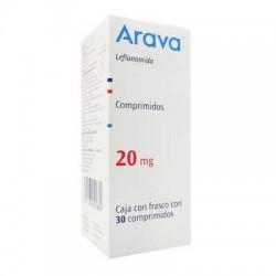 Arava leflunomide 20 mg 30 Tabs