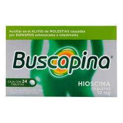 Buscapina Butylscopolamine 10 mg 36 Tabs