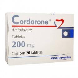 Cordarone amiodarona 200 mg 20 tabs