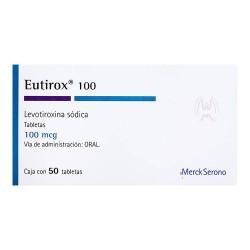 Levoxyl Synthroid Eutirox Levothyroxine 100 mcg 50 tabs