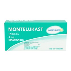 Singulair Ped 4 mg Montelukast granulated 10 envelopes