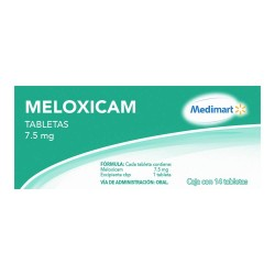 Meloxicam Generic 7.5 mg 14tabs