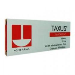 Nolvadex Taxus Tamoxifen 20 mg 30 tabs
