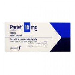 Aciphex Pariet rabeprazole 10 mg 28 tabs