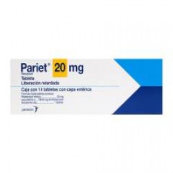 Aciphex Pariet rabeprazole 20 mg 28 tabs