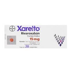 Xarelto Rivaroxaban 15 mg 28 tabs
