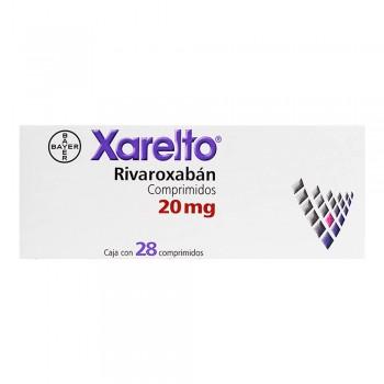 Xarelto Rivaroxaban 20 mg 28 tabs
