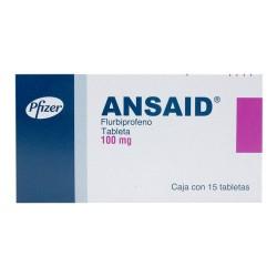 Ansaid Flurbiprofen 100 mg 15 tabs