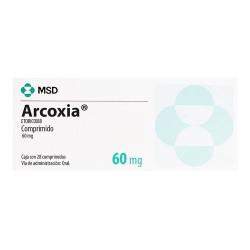 Arcoxia etoricoxib 60 mg 28 tabs