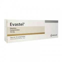 Evastel Pinavalt Ebastine 10 mg 10 Tabs