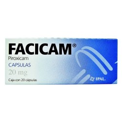 Feldene Piroxicam 20 mg 20 Caps