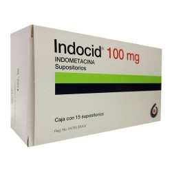 Indomethacin indocid Suppository 100 mg 15 suppositories