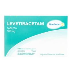 Keppra levetiracetam Generic 500 mg 30 tabs