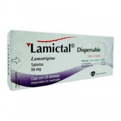 Lametec Lamictal Lamotrigine dispersibles 50 mg 28 tabs