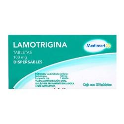 Lametec Lamictal Lamotrigine Generic 100 mg 28 tabs