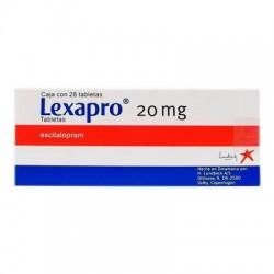 Lexapro Escitalopram 20 mg 28 tabs
