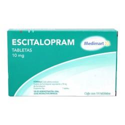 Lexapro Escitalopram Generic 10 mg 14 tabs