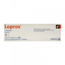 Loprox Cream Ciclopirox 1% 20 g