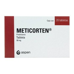 Meticorten prednisone 50 mg 20 Tabs