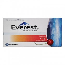 Singulair Montelukast 4 mg 30 Chew Tabs