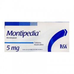 Singulair Montelukast Generic 5 mg 20 Chewable tabs