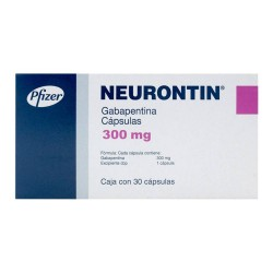 Neurontin Gabapentin 300 mg 30 Caps