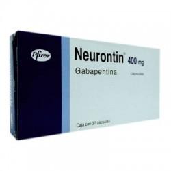 Neurontin gabapentin 400 mg 30 Caps
