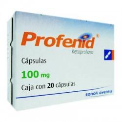 Ketoprofen Profenid 100 mg 20 Tabs