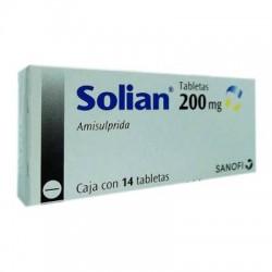 Amisulpride Solian 200 mg 14 Tabs