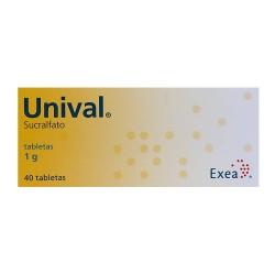 Carafate Unival Sucralfate 1 G 40 tabs
