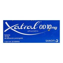 Xatral OD Alfuzosin 10 mg 28 Tabs